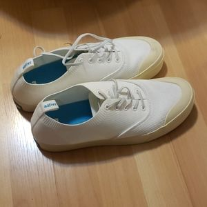 White sneakers
